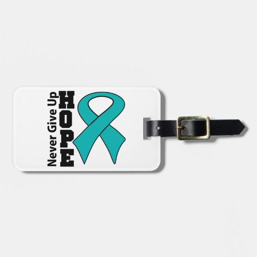 La esperanza peritoneal del cáncer nunca da para a etiquetas para maletas