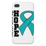 La esperanza peritoneal del cáncer nunca da para a iPhone 4 fundas