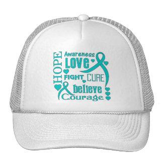 La esperanza peritoneal del cáncer redacta el coll gorras de camionero