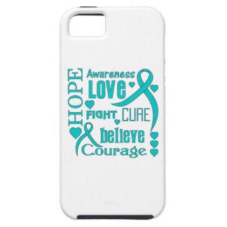 La esperanza peritoneal del cáncer redacta el iPhone 5 funda