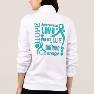 La esperanza peritoneal del cáncer redacta el chaqueta