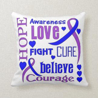 La esperanza reumatoide redacta el collage almohadas