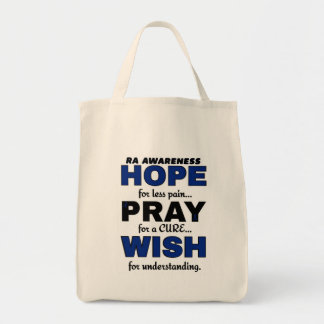 La esperanza ruega el RA del deseo… Bolsa Tela Para La Compra