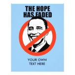 La esperanza se ha descolorado tarjetas informativas