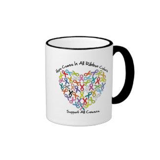 La esperanza viene en todos los colores de la taza de dos colores