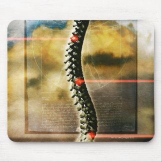 La espina dorsal humana tapetes de ratones