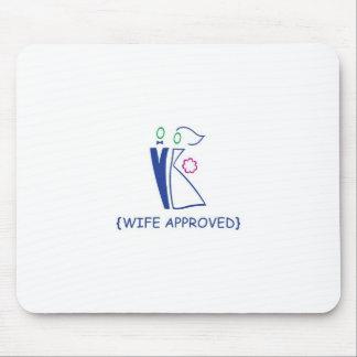 La esposa aprobó 7 mousepad