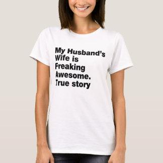 la esposa de mi marido es el freaking playera