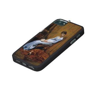 La esposa del artista de Thomas Eakins-The y su pe