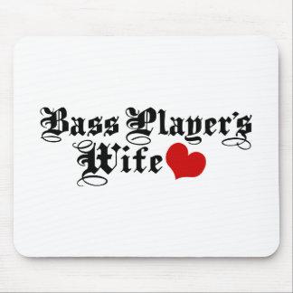 La esposa del bajista mouse pad