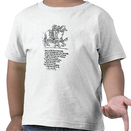 La esposa del baño camiseta