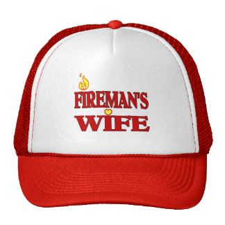 La esposa del bombero gorros
