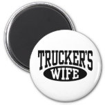 La esposa del camionero imán de nevera