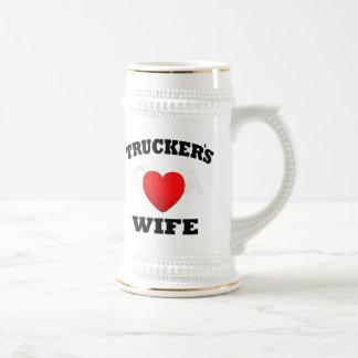 La esposa del camionero taza