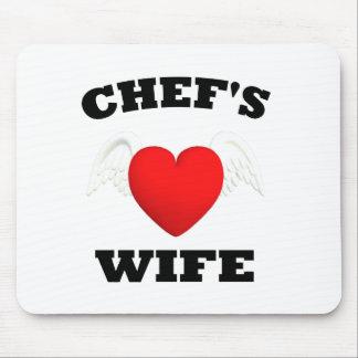 La esposa del cocinero alfombrillas de ratón