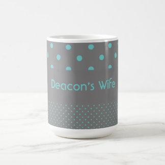 La esposa del diácono taza