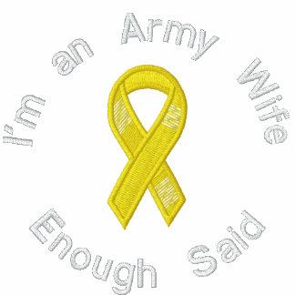 La esposa del ejército, bastante dijo la camisa bo sudadera con serigrafia