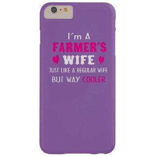 La esposa del granjero funda para iPhone 6 plus barely there
