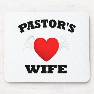 La esposa del pastor tapetes de raton