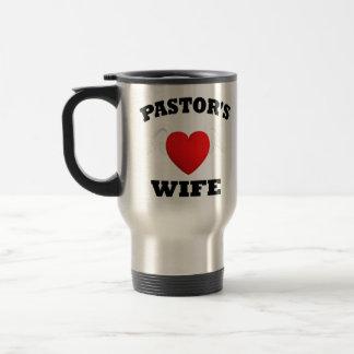 La esposa del pastor tazas de café
