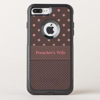 La esposa del predicador funda commuter de OtterBox para iPhone 7 plus