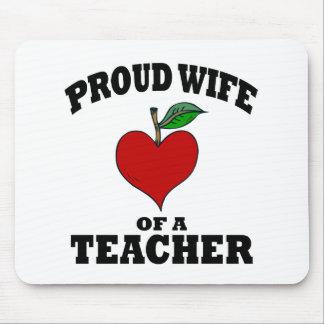 La esposa del profesor alfombrilla de raton