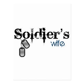 La esposa del soldado postal