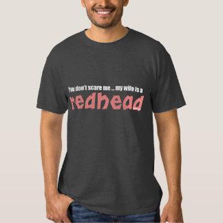 La esposa es un Redhead Poleras