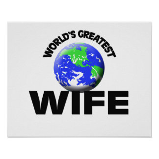 La esposa más grande del mundo posters