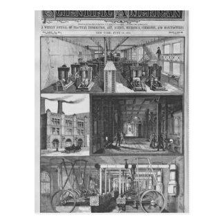 La estación de Edison el Co Illuminating eléctrico Postales