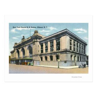 La estación de ferrocarril central de NY # 2 Postal