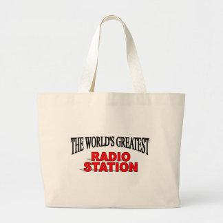 La estación de la radio más grande del mundo bolsas