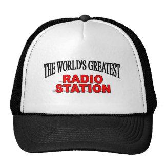 La estación de la radio más grande del mundo gorras