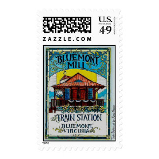 La estación del molino y de tren de Bluemont Envio