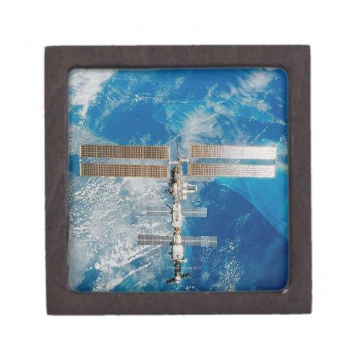La estación espacial caja de recuerdo de calidad