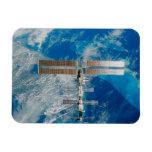 La estación espacial iman de vinilo