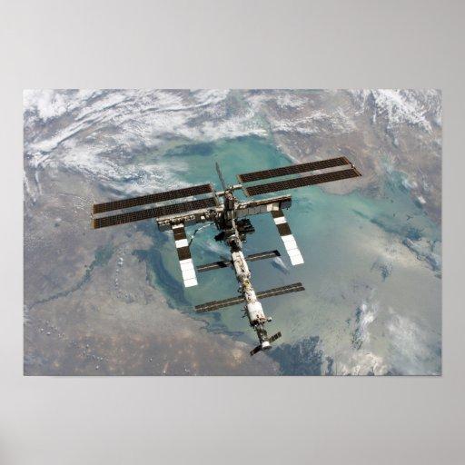 La estación espacial internacional 11 póster