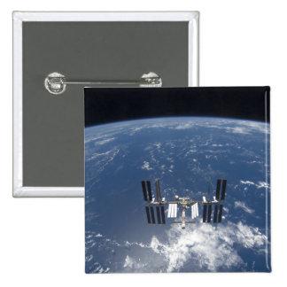 La estación espacial internacional 14 pin cuadrado