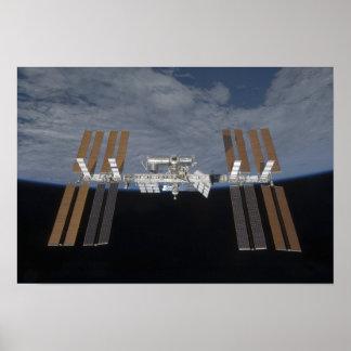 La estación espacial internacional 14 póster