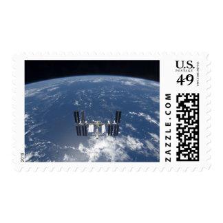 La estación espacial internacional 14 sello