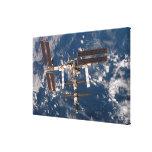 La estación espacial internacional 15 impresión de lienzo