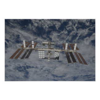 La estación espacial internacional 15 poster