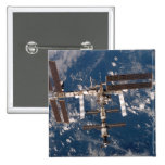La estación espacial internacional 15 chapa cuadrada 5 cm