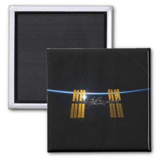 La estación espacial internacional 2009 imán para frigorifico