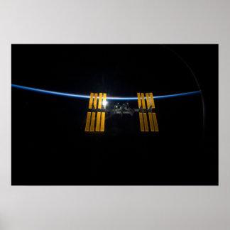 La estación espacial internacional 2009 posters