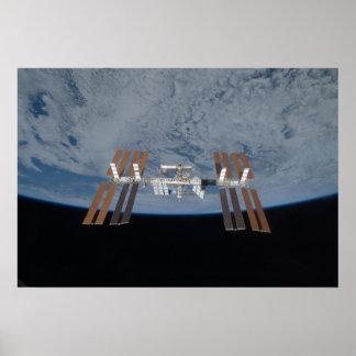 La estación espacial internacional 2009 póster