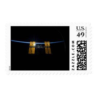 La estación espacial internacional 2009 sello