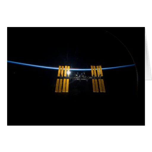 La estación espacial internacional 2009 tarjetas