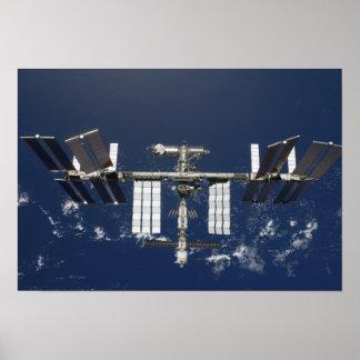 La estación espacial internacional 3 poster