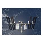 La estación espacial internacional 4 fotografías